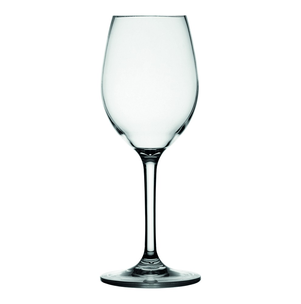 6 verres à vin antidérapants pour bateau