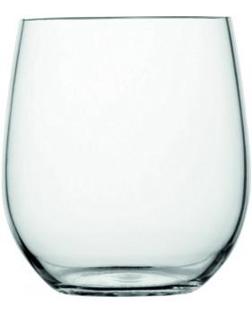 "6 verres boule effet cristal antidérapants - ""ENJOY LIFE""/""PARTY"""