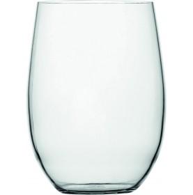 verre haut en TRITAN de forme boule transparent et antidérapant