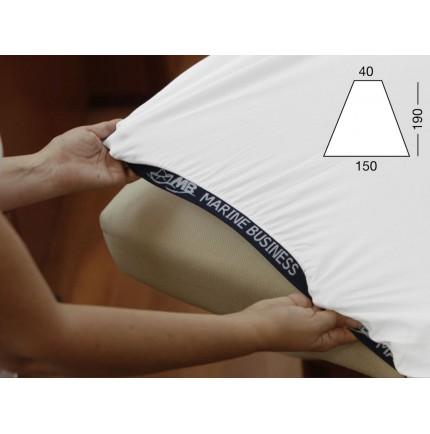 Drap housse de bateau pour lit de forme triangle avant - 3 couleurs