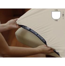 Drap housse de bateau ajustable pour lit de forme royale - 3 couleurs