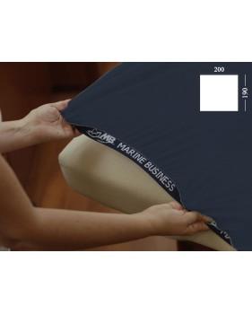 Drap housse de bateau pour lit de forme rectangle - 3 couleurs