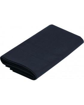 Drap lit single + taie d'oreiller bleus motifs rose des vents