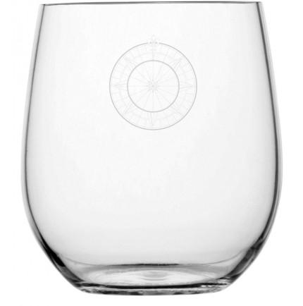 """6 petits verres à eau rose des vents -""""BALI"""""""