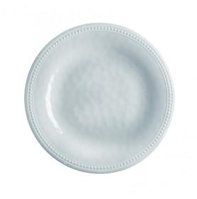 Service de 6 assiettes à dessert grises effet martelé