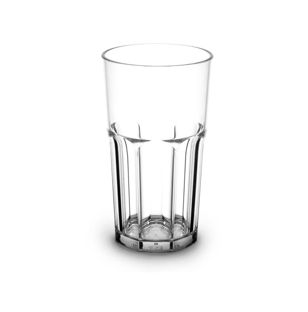 Verre haut empilable en Tritan™ incassable transparent de 33 cl