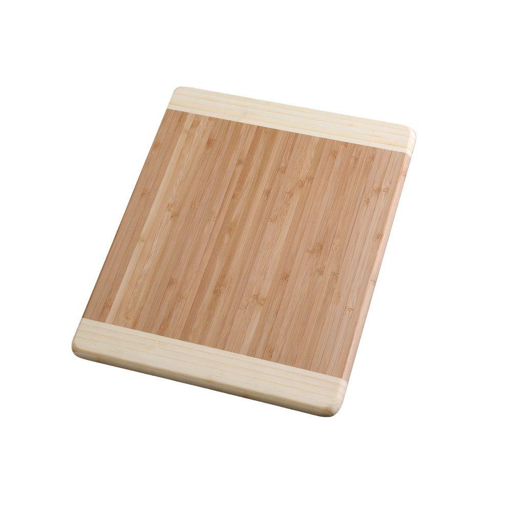 Planche à découper en bambou massif 23 x 32 cm