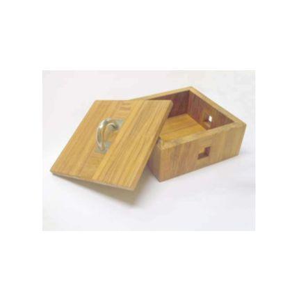 Boîte vide-poche en teck