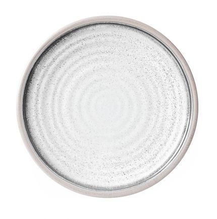 Assiette plate en mélamine antidérapante céramique Ø 21cm