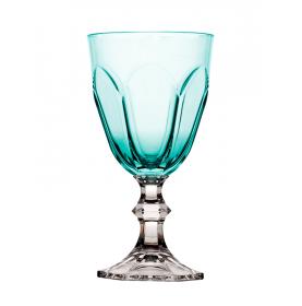 verre à vin en mélamine côtelé style Louis XIV