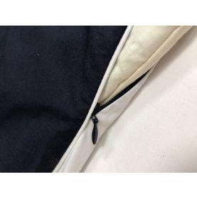 Couette légère en coton 1 ou 2 personnes avec zip