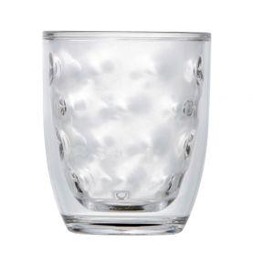 verre isotherme en mélamine transparent à reliefs