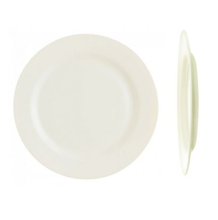 1 assiette plate en Zenix haute résistance Ø 24 cm