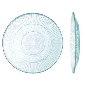 Assiette plate en verre trempé haute résistance Ø 19cm