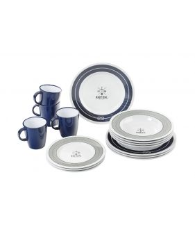 Pack vaisselle incassable pour 4 personnes avec des jolis mugs