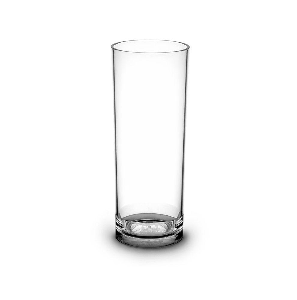1 gobelet à eau forme tube en Tritan de 33cl