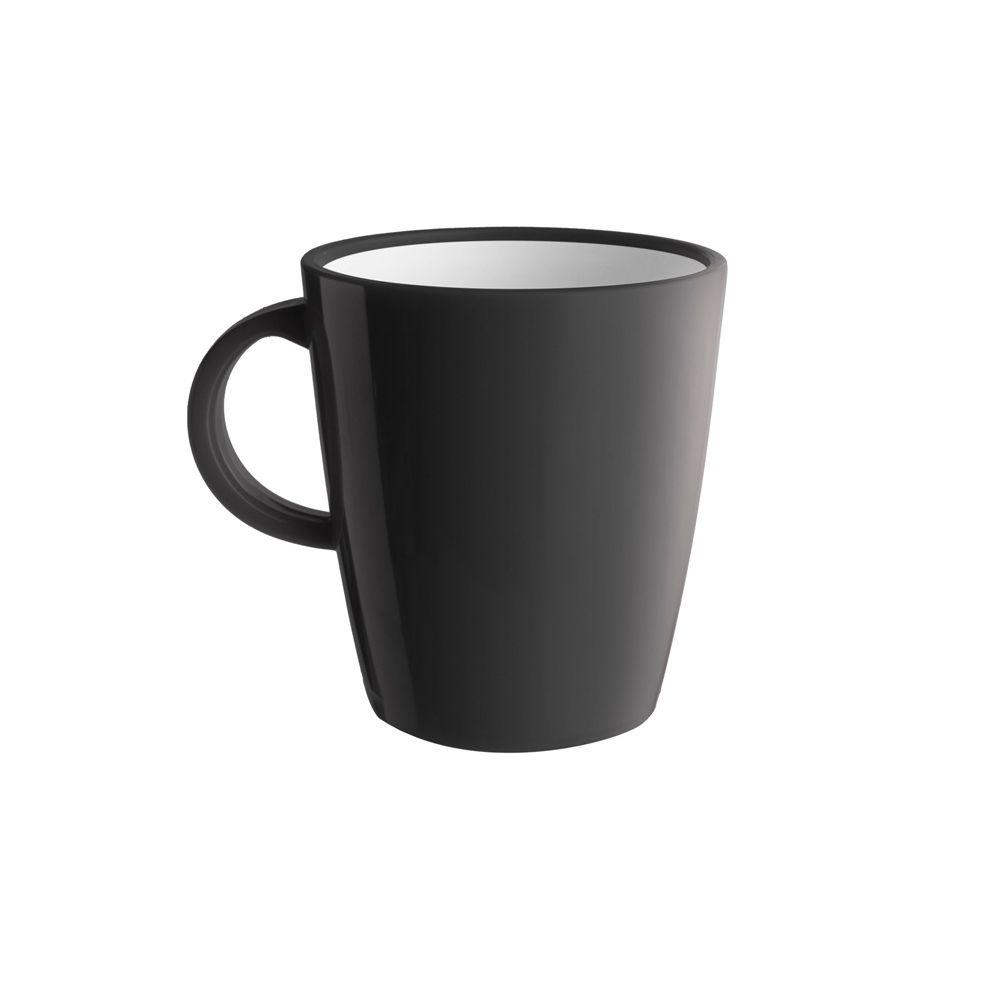 1 mug anthracite incassable en mélamine 30cl