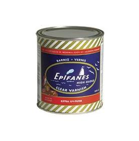 """Saladier bleu + couverts blancs à rayures marines - """"CANNES"""""""