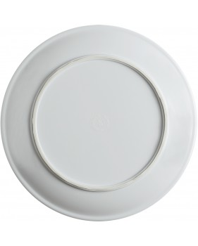 Assiettes plate antidérapante rayures
