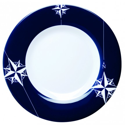 "Assiettes plate ronde - ""NORTHWIND"""
