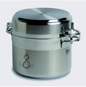 Batterie de cuisine gigogne (11 pièces)