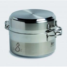 Batterie de cuisine gigogne (7 pièces)