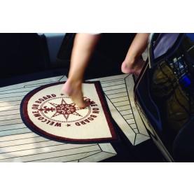 Paillasson de bateau antidérapants ovale