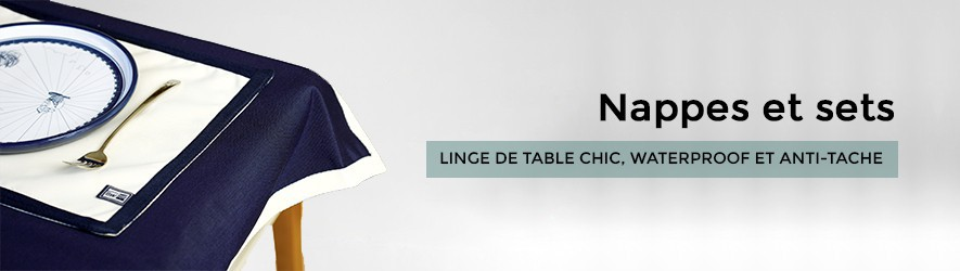 Nappes et sets de table waterproof
