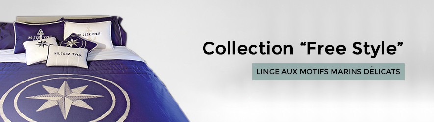 Linge de bord collection Free Style